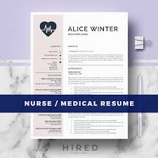Doctor Resume Templates Doctor Resume Word Archivos Hired Design Studio