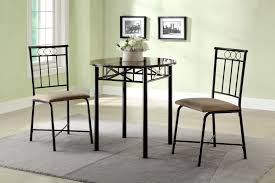 3 piece faux marble top dining set city creek furniture
