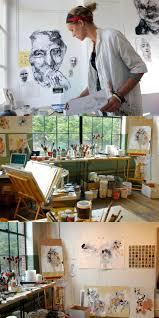Studio Ideas by Best 25 Painting Studio Ideas On Pinterest Art Studio