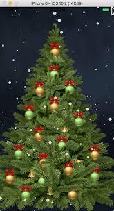 christmas tree animation with react native rational app development