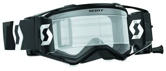 motocross goggles tinted scott prospect wfs goggles revzilla