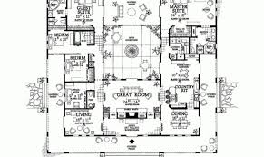 style floor plans floor plan hacienda style house plans atrium home building plans
