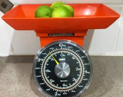 kitchen collectables retro kitchen scales etsy
