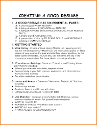 How To Do A Resume For Your First Job by Resume Samples Uva Career Center How To Write A Professional