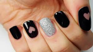 At Home Nail Designs Easy Easy Nail Art Designs At Home Videos Home Designs Ideas Online