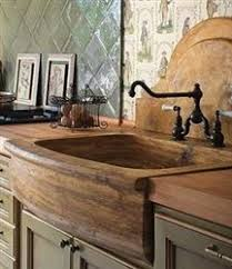 Love This Drop In Apron Front Sink And Butcher Block Counter Tops - Farmer kitchen sink