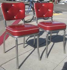 Retro Kitchen Sets by Retro Red Kitchen Chairs And Photos Madlonsbigbear Com