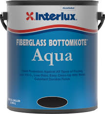 fiberglass bottomkote aqua antifouling boat paint interlux