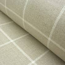 Black And White Check Upholstery Fabric Checks Natural Fabric