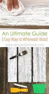 how to whitewash stained cabinets how to whitewash wood in 3 simple ways a of rainbow