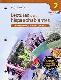 amazon com avancemos lecturas para hispanohablantes student