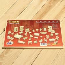 aliexpress com buy 34pcs set diy mini kids educational dollhouse