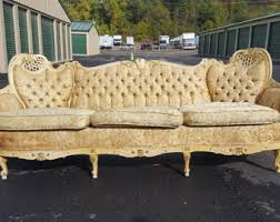 French Provincial Sofa by Etsy Your Place To Buy And Sell All Things Handmade