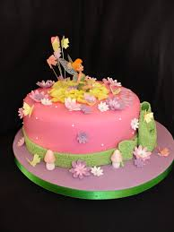 tinkerbell cakes pink tinkerbell fondant cake cakecentral