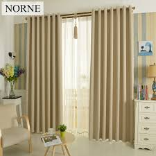 Thermal Window Drapes Aliexpress Com Buy Norne Solid Heavy Blackout Curtain 85