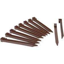 master mark terrace board stakes in brown 20 pack 99302 the