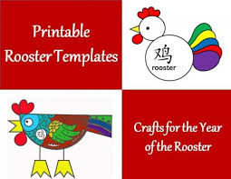 71 best crafts for year of the rooster printable chinese new year