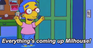 Millhouse Meme - everything s coming up milhouse the very best of milhouse 20