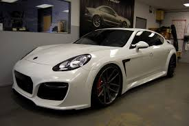 Porsche Panamera Limo - techart grand gt based on porsche panamera turbo executive body