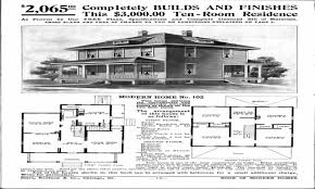 sears foursquare house plans house plan