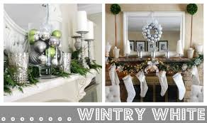 How To Decorate A Mantel For Christmas Christmas Mantel Decorating Ideas