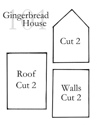 pattern for large gingerbread house 25 best gingerbread patterns images on pinterest christmas