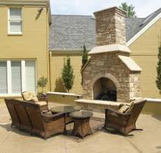 Outdoor Fireplaces And Firepits Outdoor Fireplaces Pits Rustic Cleft Veneer With Aux Vases