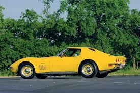 corvette stingray 71 1971 corvette stingray this banana split corvette fever