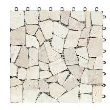 split stone deck tiles box of 10 garden winds