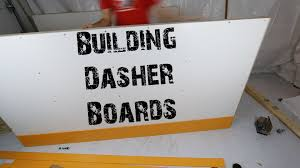 building dasher boards timelapse youtube