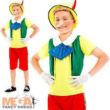 Pinocchio Halloween Costume 13 Images Kids Book Character Costume