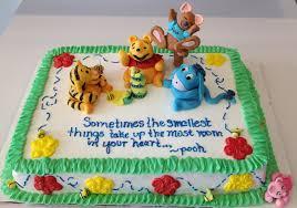 100 baby shower cakes winnie the pooh leelees cake