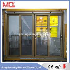 2017 modern glass sliding door designer doors front doors
