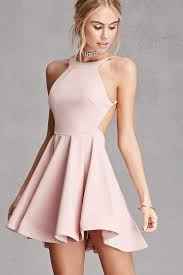 pink dress charming homecoming dress light pink mini dress lovepromdresses