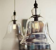 pottery barn lights hanging lights rustic glass pendant large pottery barn au