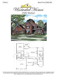 Walton House Floor Plan Floor Plans Unrivaled Homes