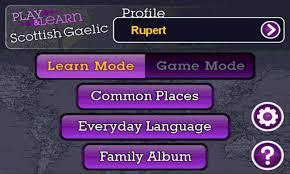 play learn scottish gaelic mobile selectsoft