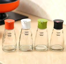 kitchen spice jar vinegar bottle liquid glass small spice jars