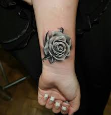 stunning cool rose tattoo on wrist new flower tattoos september
