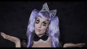 broken doll makeup tutorial spirit halloween youtube