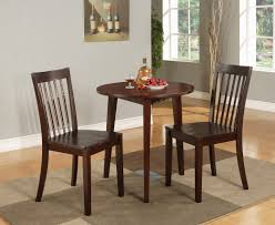 Round Wooden Dining Set Small Round Dining Tables And Chairs