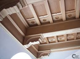 Ceiling Decoration Exclusive Millionaires Carved Ceiling Projects Los Angeles