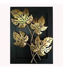 handmade mapple leaf design wall hanging frame wall decor wall