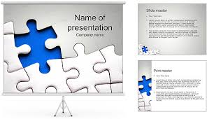 Powerpoint Jigsaw Puzzle Template Free Jigsaw Puzzle Presentation Puzzle Powerpoint Template Free