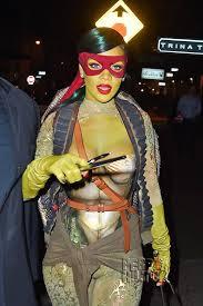 Tmnt Halloween Costumes Rihanna Feeling Lil U0027 Green Halloween Teenage