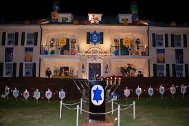 hanukkah lights decorations the rabbi with a rabbi jason miller december dilemma and