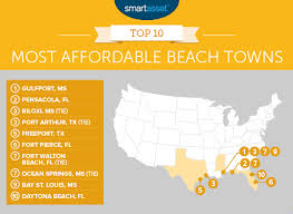 cheapest west coast cities the most affordable beach towns in 2017 smartasset