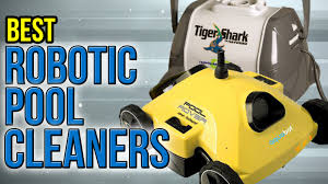 10 Best Robotic Pool Cleaners 2017