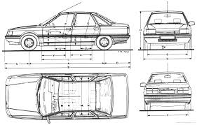 renault 21 the blueprints com blueprints u003e cars u003e renault u003e renault 21 sedan