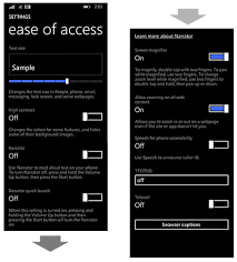 accessibility on my phone